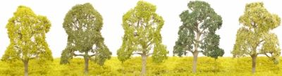 Etched Brass Deciduous Tree - Single Trunk - EB20