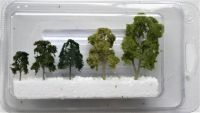N Gauge Brass Trees