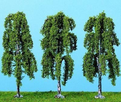 Heki 1722 - Weeping Birch Trees 9cm (4)