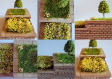 Flower Planter (Two Tiered)