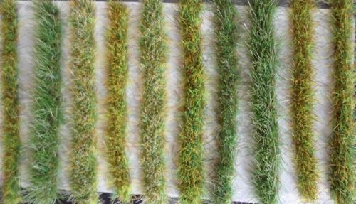 Grass Strips - 2-4mm Long Assorted Colours