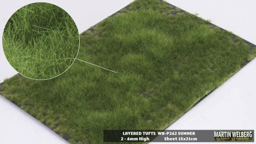 Layered Tufts - 2-6mm