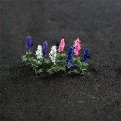 Delphiniums - N Gauge - 00905