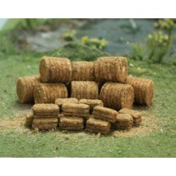 Straw Bales - OO/HO Scale