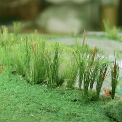 Bulrushes - OO/HO Scale