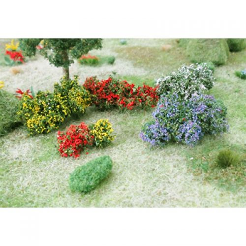 Flower Bushes - OO/HO Scale - 00674