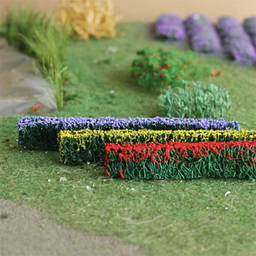 Flowering Hedge - OO/HO Scale