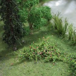 Raspberry Bushes - OO/HO Scale