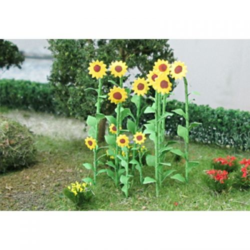 Sunflowers - OO/HO Scale - 00676