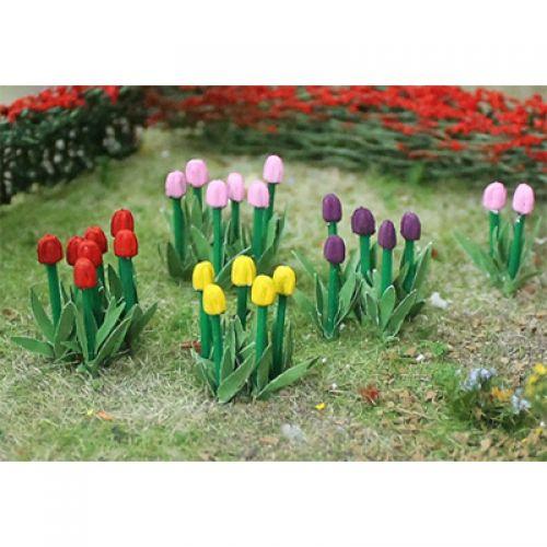 Tulips - OO/HO Scale - 00675 - BACKORDER