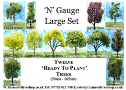 N Gauge - Large Set