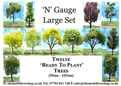 N Gauge - Large Set