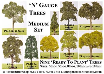 N Gauge - Medium Set