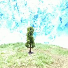 PL1097 - 50mm Tall Fir Tree