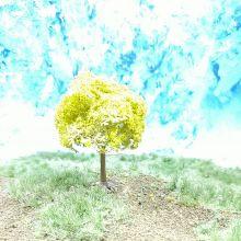 PL20103 - 55mm Tall Fruit Tree - No Fruit