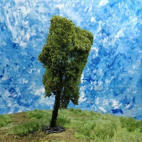 PL24101 - 100mm Tall Deciduous Tree
