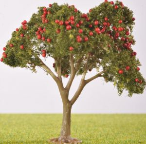 PL25103 - 80mm Fruit Tree - With Fruit