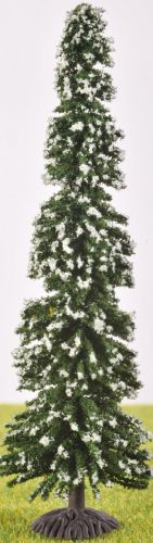 PL30117 - 100mm Pine Tree With Snow