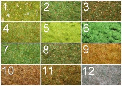 Static Grasses
