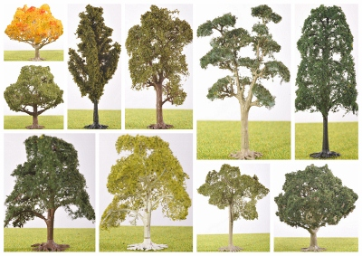 The Model Tree Shop - Scale Model Trees